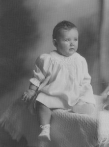 Darling Baby Girl from the early 1930's.