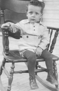 2 year old boy 1920s